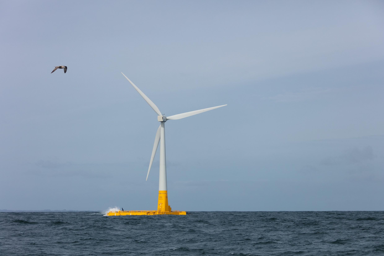 Floatgen, la première éolienne flottante française entre en exploitation