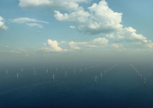 Parc éolien de Yeu-Noirmoutier - Photo Eoliennes en Mer / Iles-Yeu-Noirmoutier