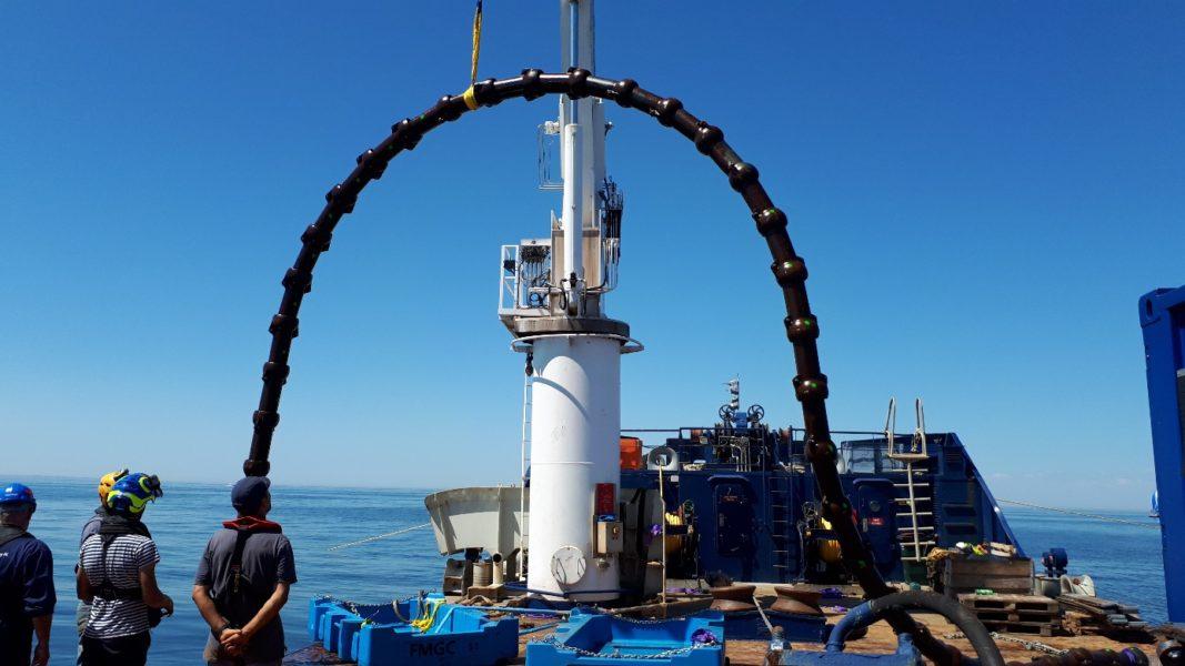 Centrale Nantes accueille sur son site d'essais en mer le 3eme essai FORESEA