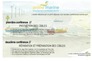 Save the date : Atelier offshore Primo Marine