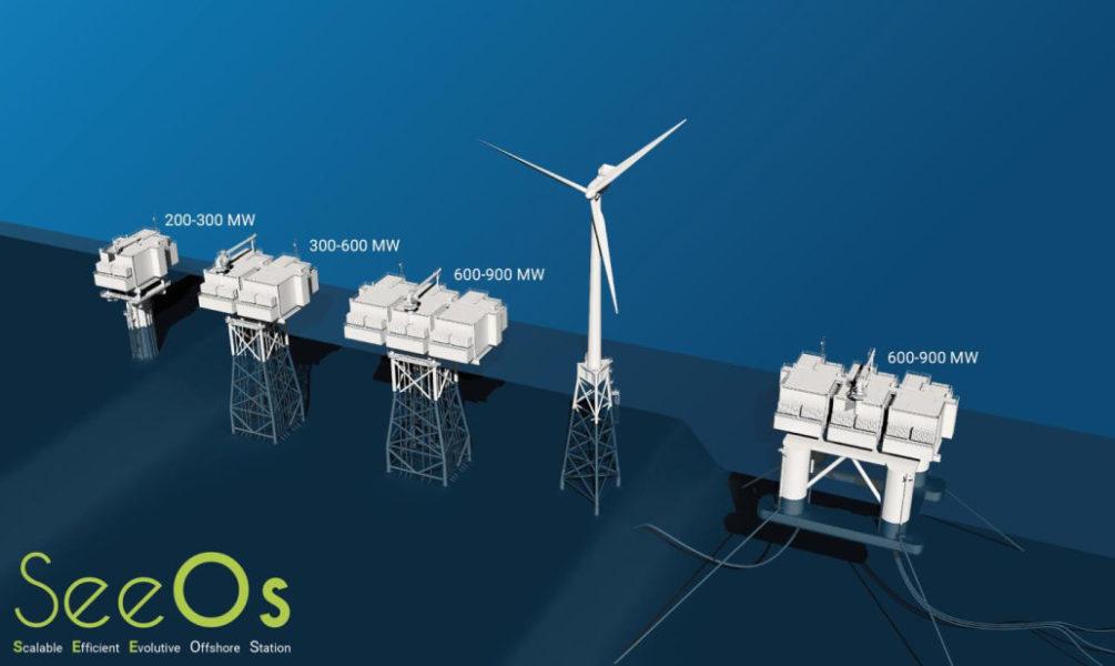 SeeOs de STX : une sous-station modulable pour prendre le large dans l'éolien offshore