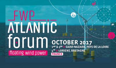 FWP Atlantic Forum 2017: au cœur des enjeux de l'éolien flottant