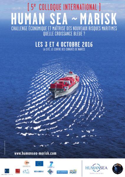 Nantes: Human Sea – Marisk, rendez-vous international sur la sécurité maritime