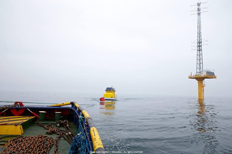 Éolien offshore : Akrocéan valorise la disponibilité des données