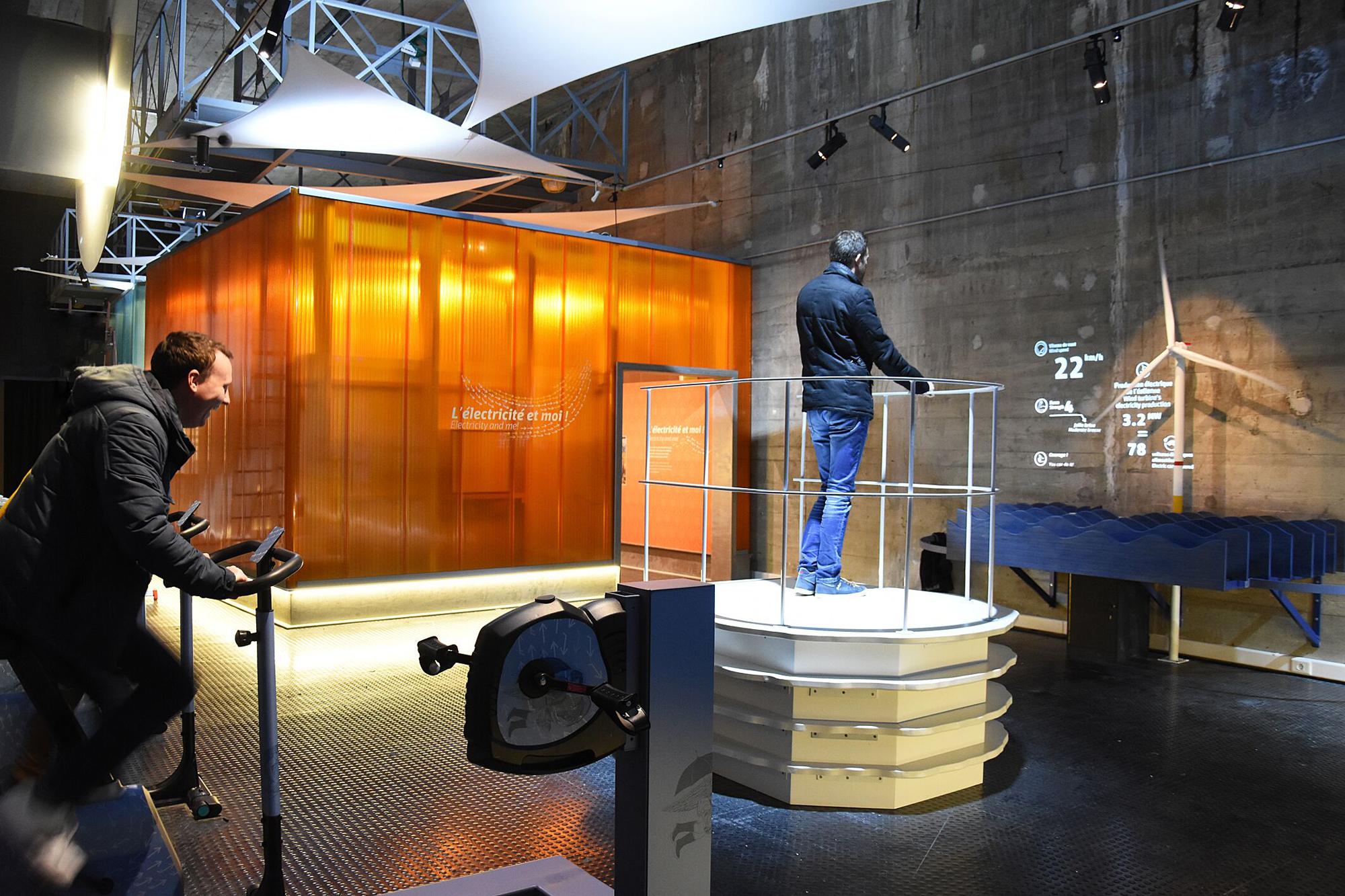 EOL, Centre éolien, premier équipement touristique de découverte de l'éolien en mer à destination du grand public