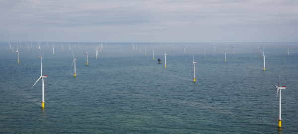 London Array, le plus grand parc éolien offshore au monde - Copyright Siemens