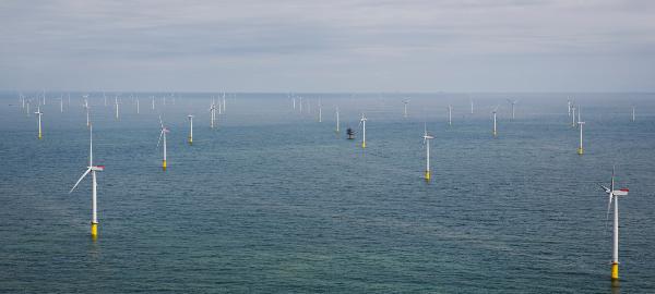 London Array, le plus grand parc éolien offshore au monde - Copyright Siemens