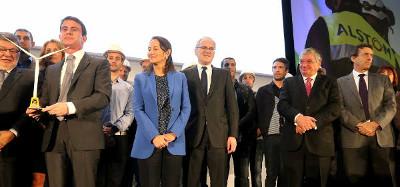 Le premier ministre Mr Valls et Mr Auxiette